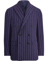 Polo Ralph Lauren - Morgan Striped Suit Jacket - Lyst