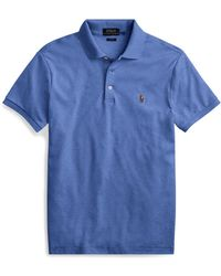 Polo Ralph Lauren - Slim Fit Soft-touch Polo Shirt - Lyst