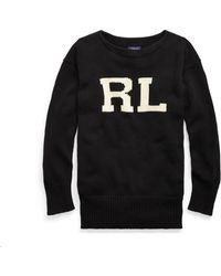 Lauren by Ralph Lauren - Rl Cotton Crewneck Jumper - Lyst