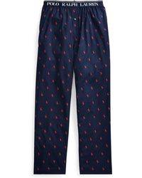 Polo Ralph Lauren - Cotton Sleep Pant - Lyst