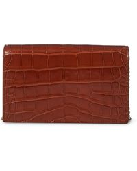 Ralph Lauren - Alligator Chain Wallet - Lyst