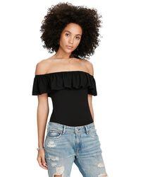 Denim & Supply Ralph Lauren - Off-the-shoulder Bodysuit - Lyst