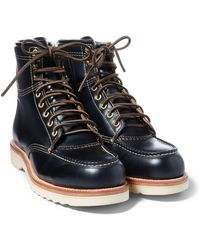RRL - Brunel Leather Work Boot - Lyst