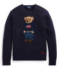 Polo Ralph Lauren - Preppy Bear Jumper - Lyst