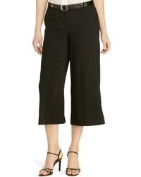 Pink Pony Sueded Crepe Culotte