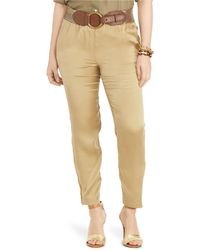 Pink Pony - Charmeuse Cargo Pant - Lyst