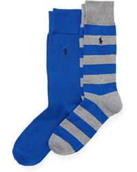 Polo Ralph Lauren - Rugby Trouser Sock 2-pack - Lyst