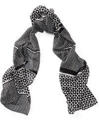 Ralph Lauren - Patterned Silk Scarf - Lyst