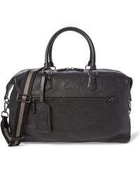 Polo Ralph Lauren - Pebbled Leather Duffel - Lyst