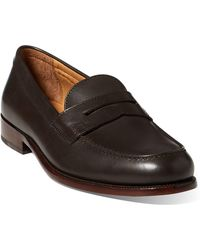 cc36ec13b4 Lyst - Polo Ralph Lauren Rylander-sk-vlc Twill Ankle-high Flat Shoe ...