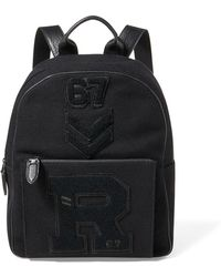 Ralph Lauren - Patchwork Wool Backpack - Lyst