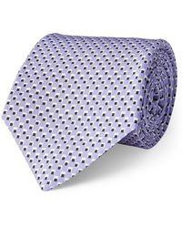 Ralph Lauren Purple Label - Silk Madder Habotai Tie - Lyst