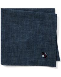 Polo Ralph Lauren - Anchor Chambray Pocket Square - Lyst