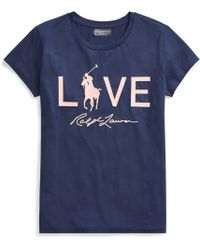 Polo Ralph Lauren - Pink Pony Graphic T-shirt - Lyst