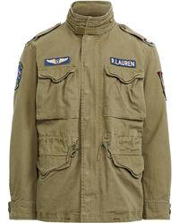 Polo Ralph Lauren Veste militaire en sergé de coton - Vert