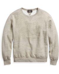 RRL | Cotton-blend-fleece Sweatshirt | Lyst