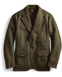 RRL - Herringbone Tweed Sport Coat - Lyst