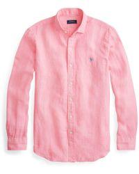 Polo Ralph Lauren - Classic Fit Linen Shirt - Lyst