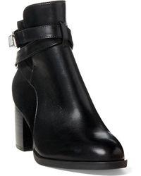 Ralph Lauren   Gersha Leather-suede Boot   Lyst