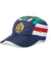 7c5c8a6e Polo Ralph Lauren Athletic Twill Cap in Black for Men - Lyst