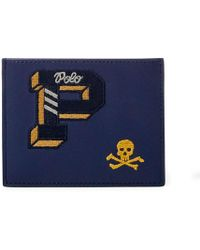 Polo Ralph Lauren - Collegiate Leather Card Case - Lyst