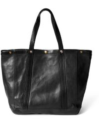 Ralph Lauren · RRL - Tumbled Leather Tote - Lyst f2eac5514b2d3