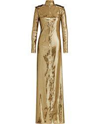Ralph Lauren - Norwood Sequined Evening Gown - Lyst