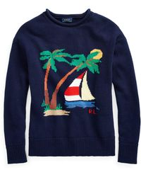 Polo Ralph Lauren - Boat Cotton Rollneck Jumper - Lyst