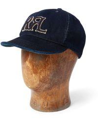 0efadcae7b9c1 Lyst - RRL Corduroy Trapper Hat in Black for Men