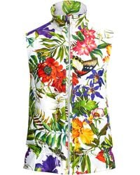 Ralph Lauren Golf - Floral-print Satin Vest - Lyst