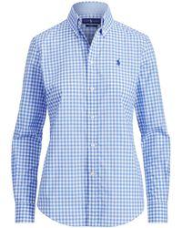 Polo Ralph Lauren - Gingham Cotton Poplin Shirt - Lyst