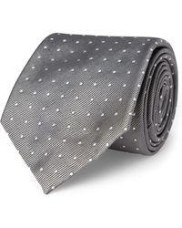 Polo Ralph Lauren - Polka-dot Silk Repp Tie - Lyst