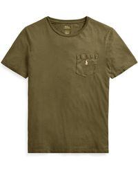 Polo Ralph Lauren - Custom Slim Fit Cotton T-shirt - Lyst