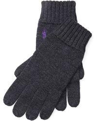 Polo Ralph Lauren - Merino Wool Gloves - Lyst