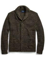 Polo Ralph Lauren - Cotton Shawl-collar Cardigan - Lyst