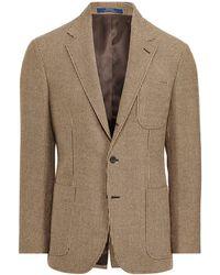 97fb09bfee1 Lyst - Polo Ralph Lauren Polo Herringbone Sport Coat in Brown for Men