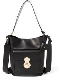 Ralph Lauren - The Calfskin Rl Bucket Bag - Lyst