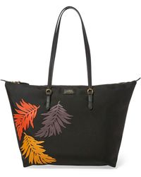 Lyst - Ralph Lauren Canvas Large Market Tote in Natural 3809ef073d
