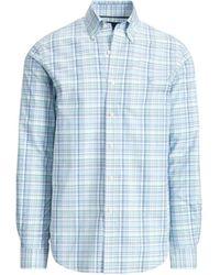 Ralph Lauren - Plaid Easy Care Poplin Shirt - Lyst