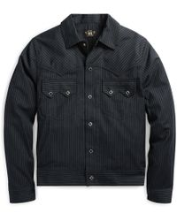 RRL - Cotton-wool Western Jacket - Lyst