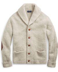 Polo Ralph Lauren - Merino Wool Shawl Cardigan - Lyst