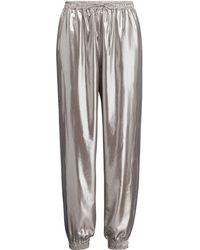 Ralph Lauren - Mitchell Metallic Foil Pant - Lyst