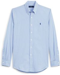 Polo Ralph Lauren | Striped Cotton Poplin Shirt | Lyst