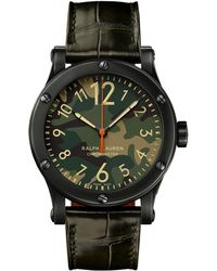 Ralph Lauren - 39mm Chronometer Steel - Lyst