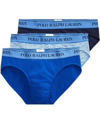 Polo Ralph Lauren - Low-rise Jersey Brief 3-pack - Lyst
