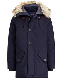 Polo Ralph Lauren - Faux Fur-trim Down Parka - Lyst