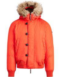 5ea3981d Polo Ralph Lauren Suede Down Shirt Jacket in Brown for Men - Lyst
