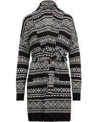 Ralph Lauren - Wool-blend Belted Cardigan - Lyst