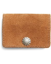 RRL   Roughout Leather Coin Wallet   Lyst