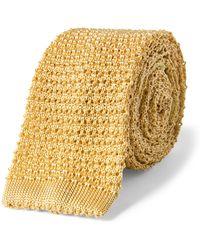 Polo Ralph Lauren - Knit Silk Narrow Tie - Lyst